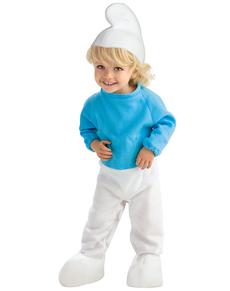Smurf kostuum voor baby