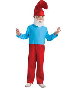 Grote Smurf kostuum deluxe voor kinderen