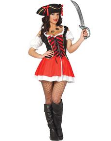 Kostuum piraat boekanier sexy voor vrouwen