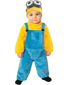 Kostuum Minion Bob voor baby's